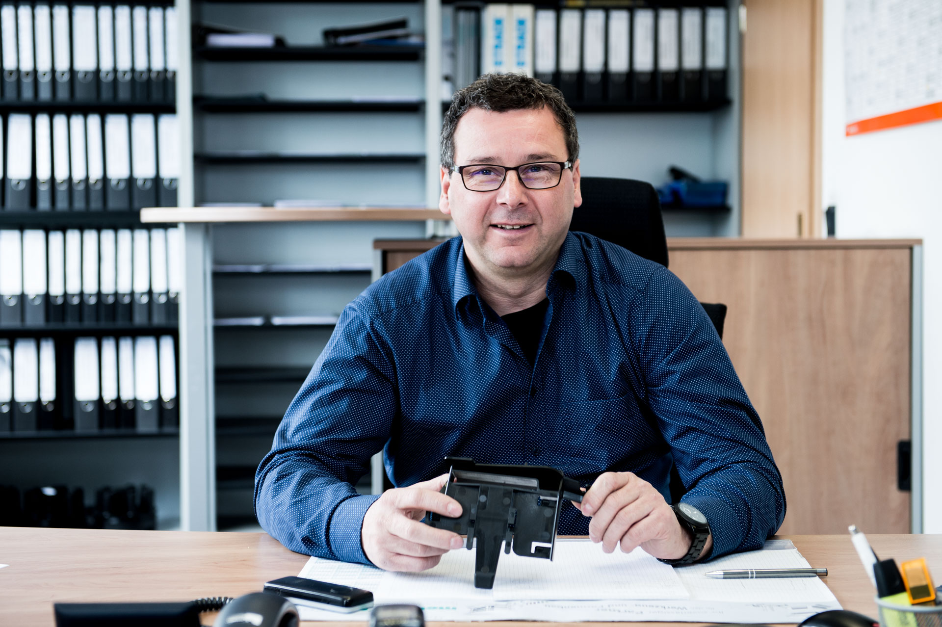 Andreas Sommer, Geschäftsführer und Werkzeugmachermeister